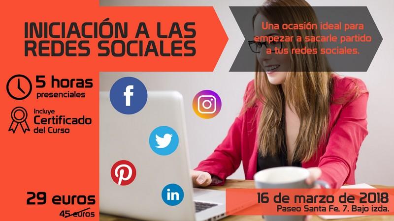 Curso Iniciación a las Redes Sociales