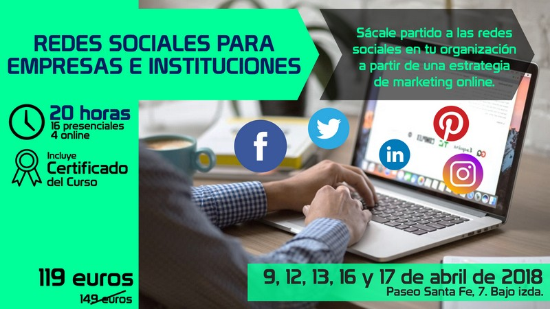 Curso Redes Sociales para Empresas e Instituciones
