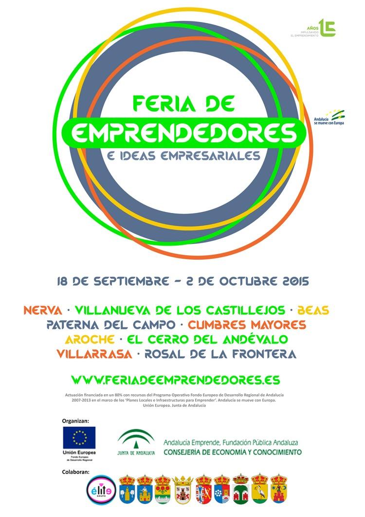Feria de Emprendedores e Ideas Empresariales. Septiembre - Octubre 2015.