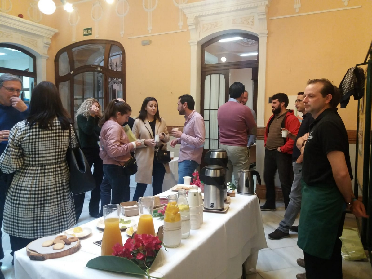 Desayuno Ecológico - Foro de Concejales y Técnicos de Juventud - Instituto Andaluz de la Juventud (2018)